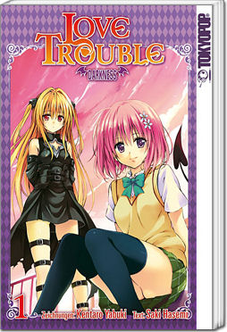 love trouble darkness band 01 manga world of games. Black Bedroom Furniture Sets. Home Design Ideas