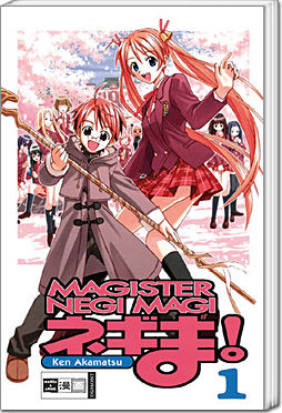 Magister Negi Magi, Band 01