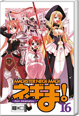 Magister Negi Magi, Band 16