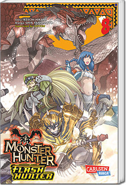 Monster Hunter Flash Hunter, Band 08