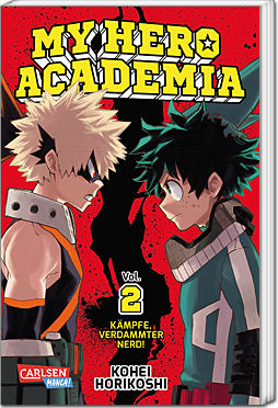 My Hero Academia, Band 02