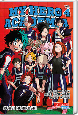 My Hero Academia, Band 04