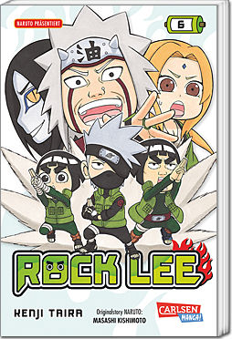 Rock Lee, Band 6