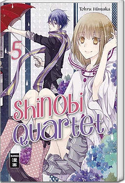 Shinobi Quartet, Band 05