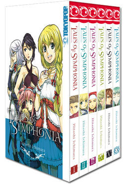 Tales of Symphonia - Complete Box (6 Bände)