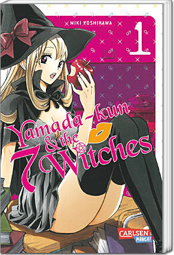 Yamada-kun and the seven Witches, Band 01