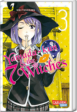 Yamada-kun and the seven Witches, Band 03