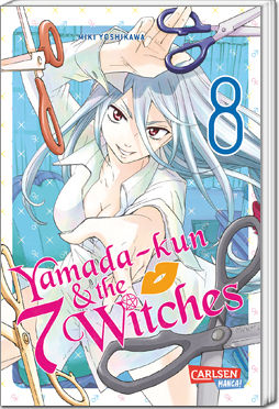 Yamada-kun and the seven Witches, Band 08