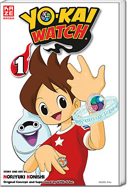 Yo-Kai Watch, Band 01
