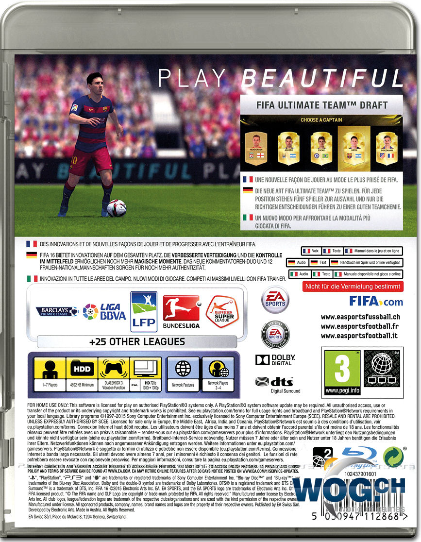 fifa 16 cover ps3 images reverse search. Black Bedroom Furniture Sets. Home Design Ideas