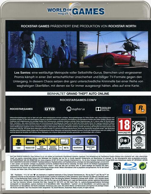 Grand Theft Auto On Vita : Grand theft auto playstation world of games