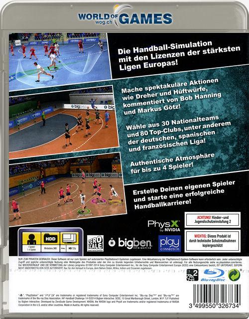 ihf handball challenge 14 playstation 3 pal sfr 14 90 in den warenkorb