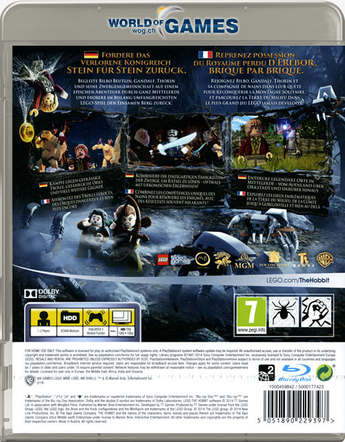 Lego The Hobbit [Playstation 3] \u2022 World of Games