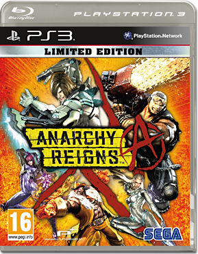 Anarchy Reigns - Limited Edition -E-