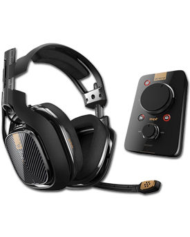Headset A40 TR inkl. Mix Amp Pro TR -Black- (Astro)