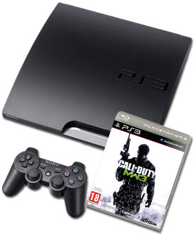 Sony Playstation 3 Slim PAL Call of Duty: Modern Warfare 3 B