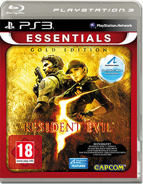 Resident Evil 5 - Gold Move Edition