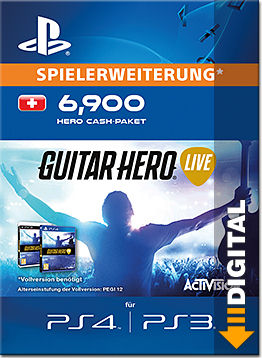 Guitar Hero Live: 6900 Hero Cash Pack