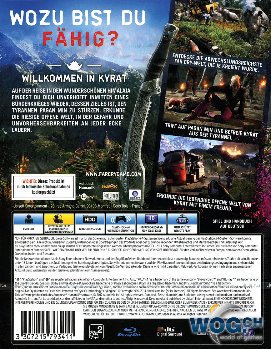 Far Cry 4 Ps4 Cover Pictures to Pin on Pinterest - PinsDaddy