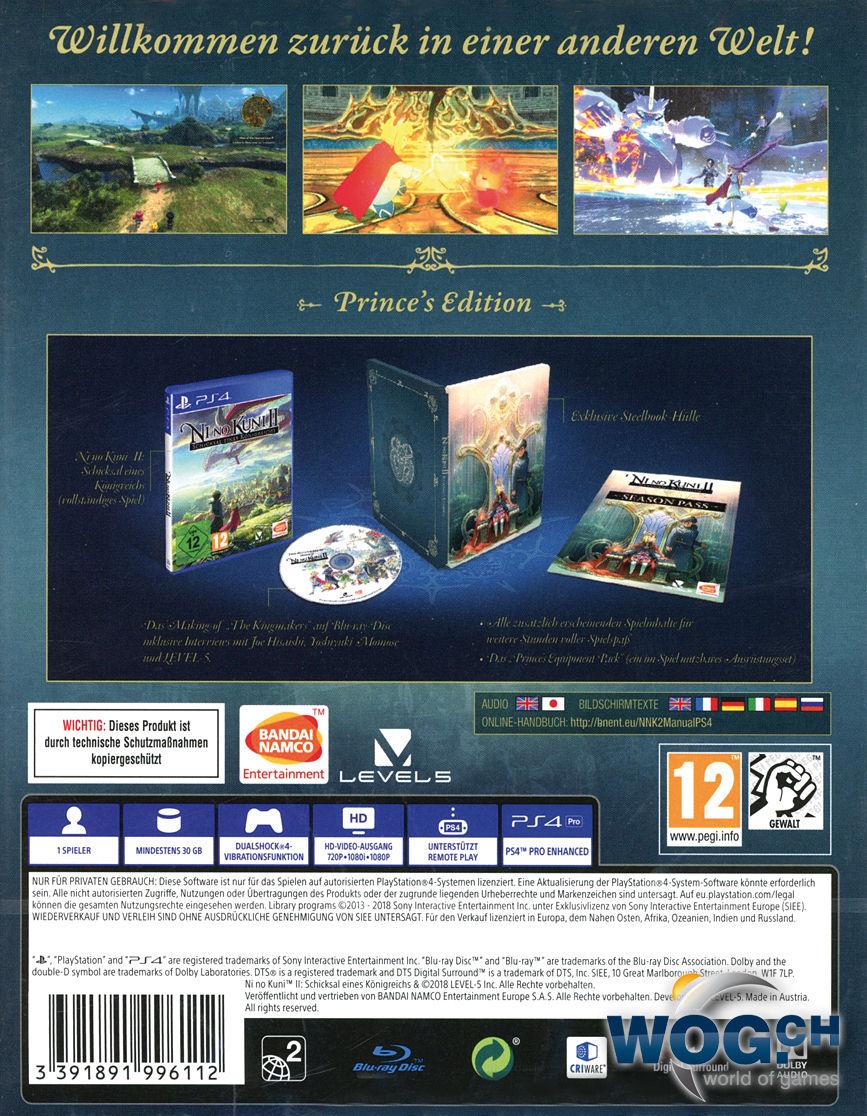 Harga Dan Spek Children Of Zodiarcs Multi Layered Strategy Ps4 Utawarerumono Mask Deception Reg 1 Ps Vita Ni No Kuni 2 Revenant Kingdom Princes Edition Playstation 4