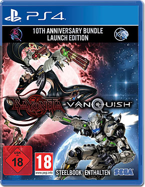 Bayonetta & Vanquish - 10th Anniversary Bundle Limited Edition