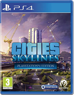 Cities: Skylines - Playstation 4 Edition -E-