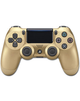 Controller Dualshock 4 -Gold- (Sony)