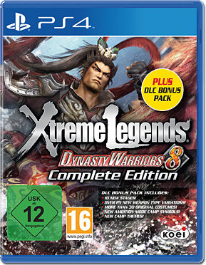 Dynasty Warriors 8: Xtreme Legends - Complete Edition + DLC Bonus Pack