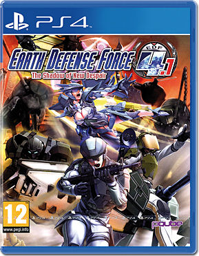 Earth Defense Force 4.1: The Shadow of New Despair -E-