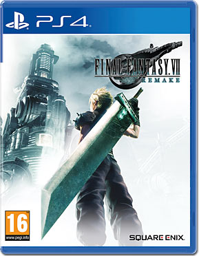 Final Fantasy 7 Remake (inkl. Untersetzer-Set)