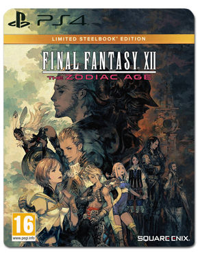 Final Fantasy 12: The Zodiac Age - Steelbook Edition