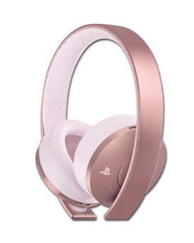 Gold Wireless Headset -Rose Gold- (Sony)