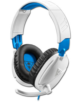 Ear Force Recon 70P Gaming Headset -White- (Turtle Beach)
