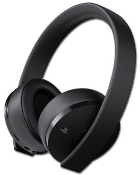 Gold Wireless Headset -Black- (Sony)