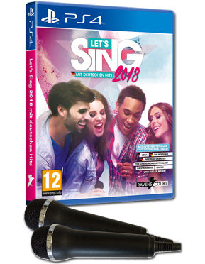 Let's Sing 2018 (inkl. 2 Mikrofone)