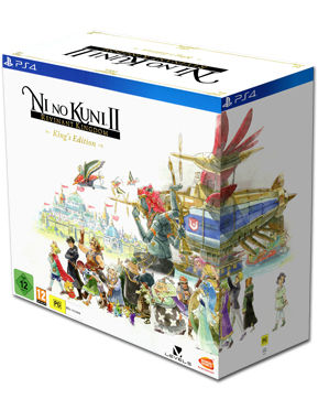 Ni no Kuni 2: Revenant Kingdom - King's Edition (inkl. Waffenpaket DLC & Lithografie)
