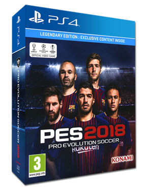 PES 2018 - Pro Evolution Soccer - Legendary Edition
