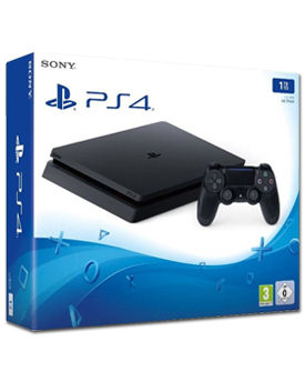 Sony Playstation 4 Slim 1 TB -Black- (Sony)