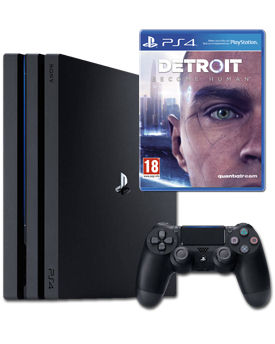 Sony Playstation 4 Pro 1 TB - Detroit Set (Sony)