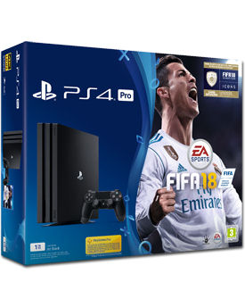 Sony Playstation 4 Pro 1 TB - FIFA 18 Set (Sony)