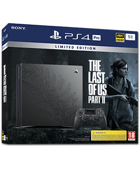 Sony Playstation 4 Pro 1 TB - The Last of Us Part II - Limited Edition (Sony)