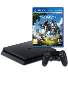 Sony Playstation 4 Slim 500 GB - Horizon Set -Black- (Sony)