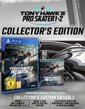 Tony Hawk's Pro Skater 1+2 - Collector's Edition