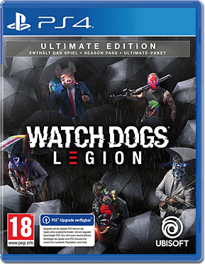Watch Dogs: Legion - Ultimate Edition (inkl. Schlüsselanhänger)