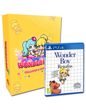 Wonder Boy Returns - Collector's Edition