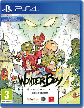 Wonder Boy: The Dragon's Trap -JP-