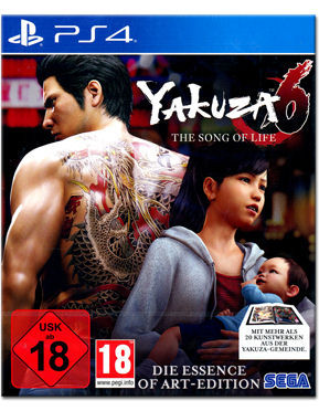 Yakuza 6: The Song of Life - Essence of Art Edition