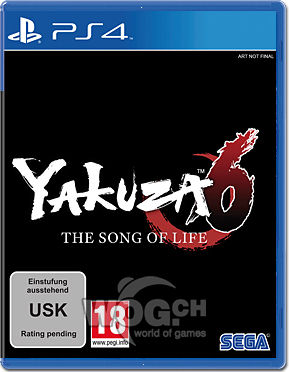 Yakuza 6: The Song of Life - Launch Edition