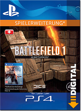 Battlefield 1: Battlepacks x40