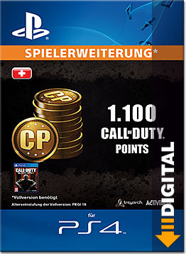 Call of Duty: Black Ops 3 - 1'100 Call of Duty Points